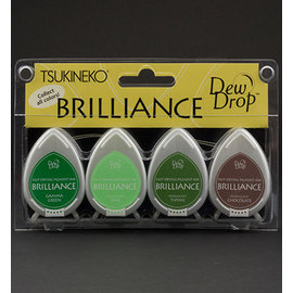 FARBE / STEMPELKISSEN Brilliance Dew Drop - Set of 4