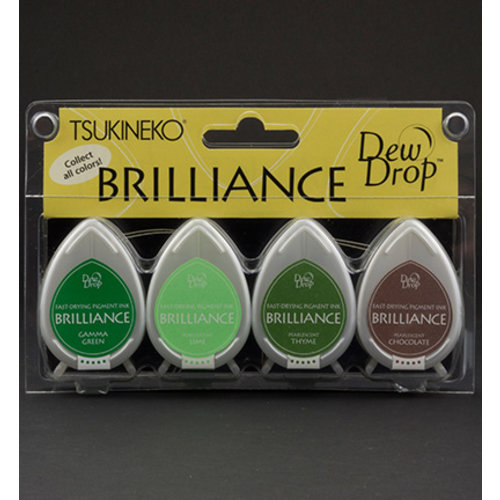 FARBE / STEMPELKISSEN Brilliance Dew Drop - 4er Set