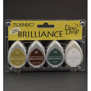 FARBE / STEMPELKISSEN Brilliance Dew Drop - Set of 4