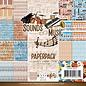 """Karten und Scrapbooking Papier, Papier blöcke Card and scrapbook paper block """"Sounds of Music"""""""