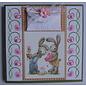 Bilder, 3D Bilder und ausgestanzte Teile usw... A4, Bilderbogen: Bunny Love - zurück vorrätig!