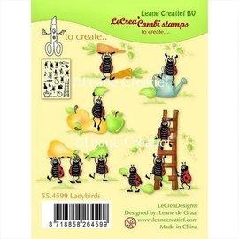 """Leane Creatief - Lea'bilities und By Lene avec le motif du timbre """"Leane Creatief"""", Transparent, bonne chance!"""