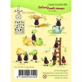 "Leane Creatief - Lea'bilities und By Lene por motivo de sello ""Leane Creatief"", transparente, buena suerte!"