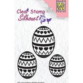 Nellie Snellen Estampilla, estandarte, huevos de pascua.