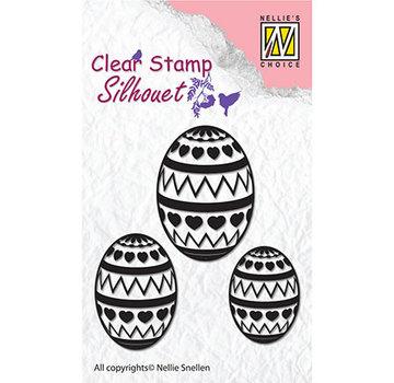 Nellie Snellen Timbro, banner, uova di Pasqua