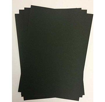 Karten und Scrapbooking Papier, Papier blöcke A4 Luxury Cardstock, 220 gsm, sort, 10 ark