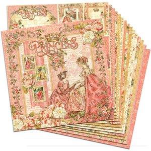 GRAPHIC 45 Kaart- en plakboekblok, 20,5 x 20,5 cm