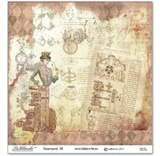 LaBlanche 1 sheet, 30.5 x 30.5 cm from La Blanche '' STEAMPUNK 6 '' only a few in stock!