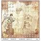 LaBlanche 1 vel, 30,5 x 30,5 cm van La Blanche '' STEAMPUNK 6 '' slechts een paar op voorraad!