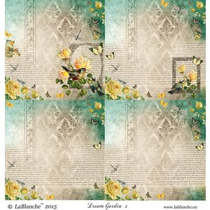 """LaBlanche 1 vel, 30,5 x 30,5 cm van La Blanche 'Dream Garden 2 """""""