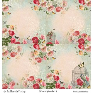 """LaBlanche 1 foglio, 30,5 x 30,5 cm da La Blanche 'Dream Garden 3 """""""