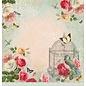 LaBlanche 1 ark, 30,5 x 30,5 cm fra La Blanche 'Dream Garden 3'