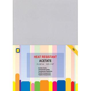 BASTELZUBEHÖR, WERKZEUG UND AUFBEWAHRUNG Hitzebeständige Folie, zum Stempel, erhitzen und Prägen!