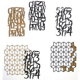 Elisabeth Craft Dies , By Lene, Lawn Fawn Matrices de découpe, Planner Motiv, Patterns