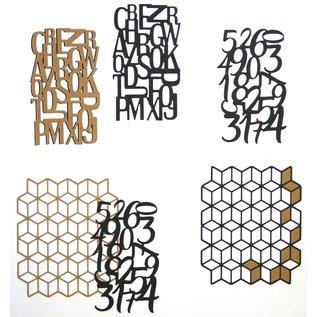 Elisabeth Craft Dies , By Lene, Lawn Fawn Stanzschablonen,  Planner Motive / Patterns
