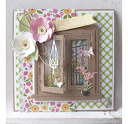 Marianne Design cutting dies, Tiny's window