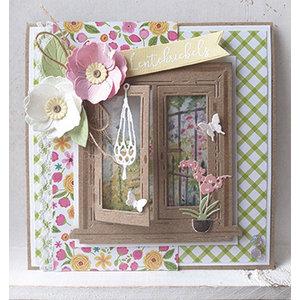 """Marianne Design Stanzschablonen, Fenster """"Tiny's window"""""""