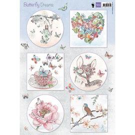 Marianne Design Immagini, sogni romantici - Pink, Paper Tinker, Scrapbook, design di carte