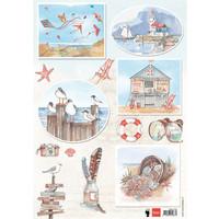 Foglio illustrativo A4, lavorazione con carta, album, design di carte