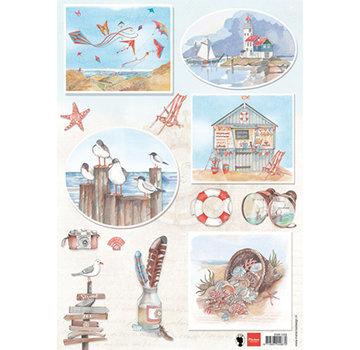 Marianne Design Foglio illustrativo A4, lavorazione con carta, album, design di carte