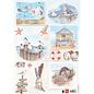 Marianne Design A4 Bilderbogen, Basteln mit Papier, Scrapbook, karten gestalten
