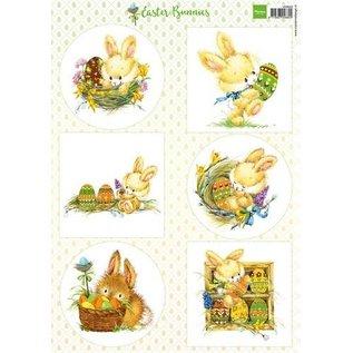 Marianne Design Picture Sheet A4 Sweet Bunnies