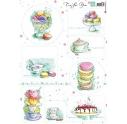 Marianne Design Picture Sheet A4 Tea for you