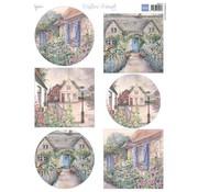 Marianne Design Foglio A4 con foto, belle case