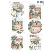 Marianne Design Foglio A4 con foto, il più bel giardino