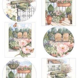 Marianne Design Hoja A4 con fotos, el jardín más bonito.