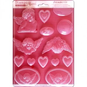 Stamperia Flexible molds, even embellishments!