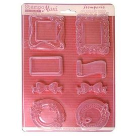 Stamperia und Florella Flexible molds, even embellishments!