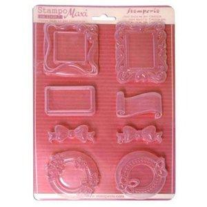 Stamperia Flexible Gießformen, selbst Embellishments erstellen!