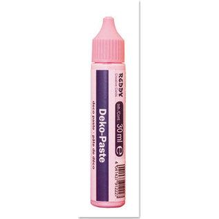 FARBE / MEDIA FLUID / MIXED MEDIA Pasta deco, rosa, botella de molienda con 30 ml.