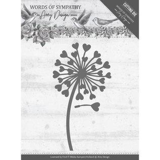 Precious Marieke Plantillas de corte, Sympathy Flower