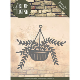 JEANINES ART  cutting dies, Hanging plant in a pot