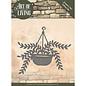 JEANINES ART  Snijmallen,Hangende plant in een pot