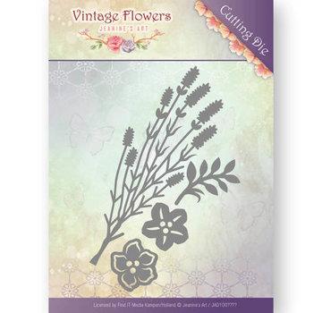 JEANINES ART (NEU) Stanzschablonen,  Vintage Flowers