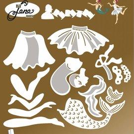 Crealies und CraftEmotions Plantillas de punzonado,Fairy Tale