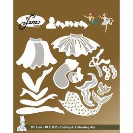Craftemotions Snij en embossing Mallen / Sjablonen, Fairy Tale