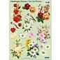 Bilder, 3D Bilder und ausgestanzte Teile usw... 3D-udskåret A4-ark: blomsterbuketter