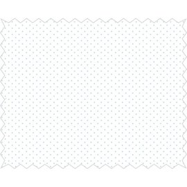Textil Tissu en coton: points porte-bonheur, vert lime