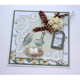 Joy!Crafts / Jeanine´s Art, Hobby Solutions Dies /  Stanz, präge und debos Schablone - Vogel mit Nest