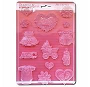 Stamperia Flexible molds, even embellishments!