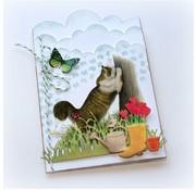 Joy!Crafts / Jeanine´s Art, Hobby Solutions Dies /  Stanzschablonen, präge und debos Schablone - Garten Accesoires