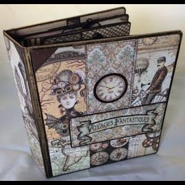 Stamperia Bloc de papier pour cartes et scrapbook, Stamperia