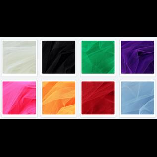 ein SET mit 8 x dekorative Tüll, 25 cm  x 25 cm in 8 Farbe!