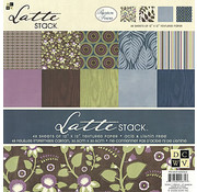 DCWV und Sugar Plum Designer block, latte stack, 48 sheets, 30.5 x 30.5 cm