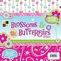 DCWV und Sugar Plum Designer Blok, The Blossoms Butterflies, 48 vellen, 30,5 x 30,5 cm