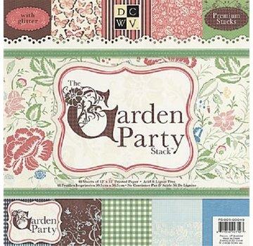 DCWV und Sugar Plum Designer Block, The garden Party, 48 Blatt, 30,5 x 30,5 cm